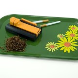 Originally used as T.V. trays but are perfect for rolling.