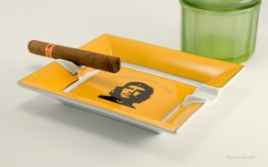 Perfect size cigar ashtray with ample rests