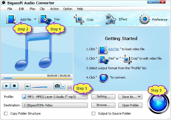 Audio Converter: Play APE on Mac/Windows/iTunes/iPod/Winamp