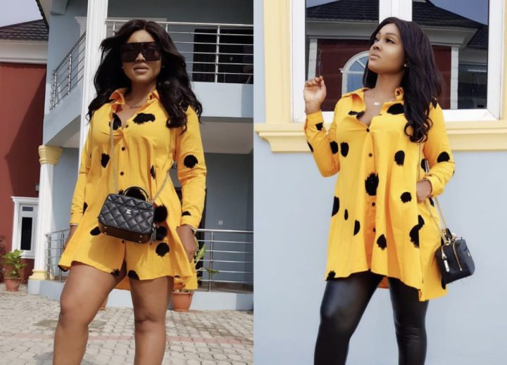 Mercy Aigbe Slams Fan Who Corrected Her Spellings On IG