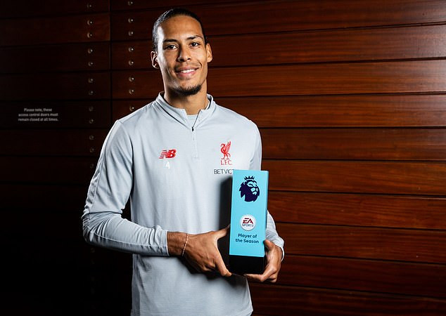 Van Dijk Wins EPL Player Of The Season