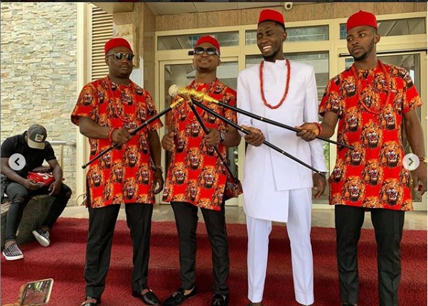 See Photos From Wilfred Ndidi's Traditional Wedding