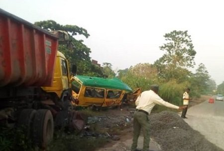 Five Dead In Ogun Autocrash