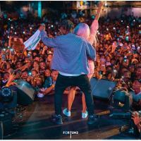 Zlatan Rocks DJ Cuppy At His Concert