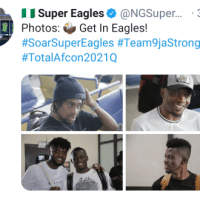 Ahmed Musa, Iwobi, Ndidi, Ajayi And 5 Others Arrive Uyo For Super Eagles AFCON Qualifier Against Benin