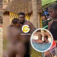 Slay Queen Gets Chopped In A Pool (Video)