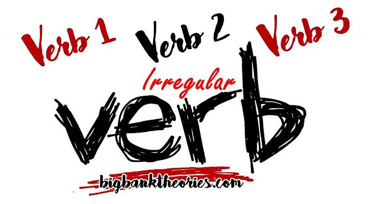 Irregular Verb Dan Bentuk Perubahannya