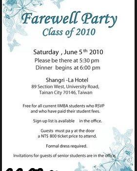 Invitation Farewell Party 281x350 Jpg