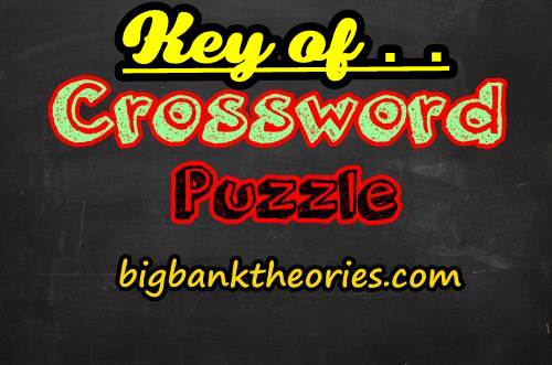 Crossword Puzzle Answers