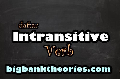 Intransitive Verb List