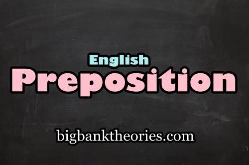 Penjelasan Dan Contoh Kalimat Preposition