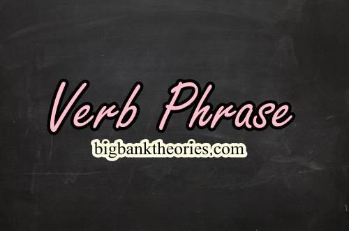 Contoh Verb Phrase