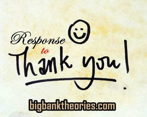 Respon Ucapan Terimakasih Dalam Bahasa Inggris