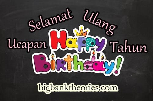 ucapan selamat ulang tahun bahasa inggris keren dan r tis