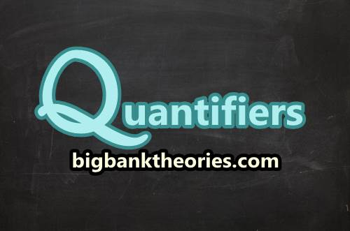 Quantifier For Countable And Uncountable Noun