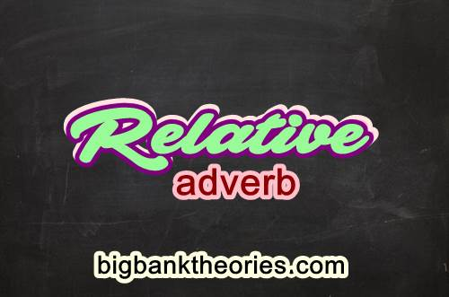 Contoh Penggunaan Relative Adverb Dalam Kalimat