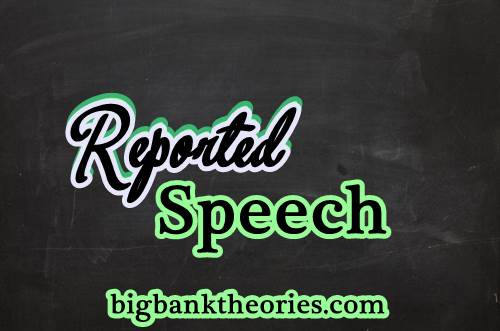 Example Reported Speech