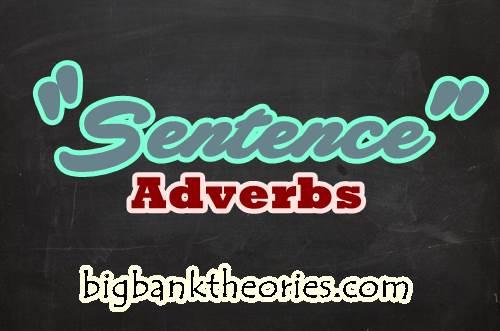 Contoh Sentence Adverbial