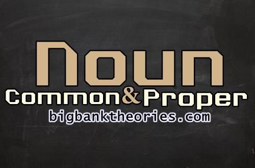 Contoh Kalimat Common Dan Proper Noun