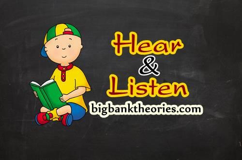 Pengertian Dan Contoh Penggunaan Kata Hear Dan Listen