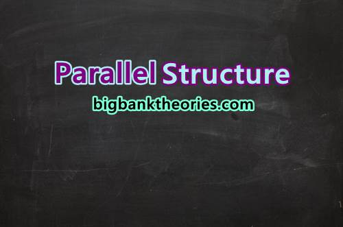 Parallel Structure Dengan Conjunction