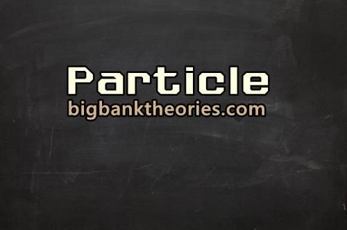 Contoh Particle Dan Fungsinya