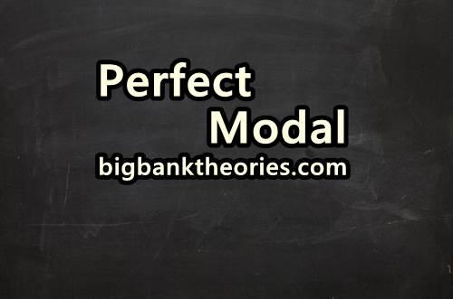 Contoh Kalimat Perfect Modal
