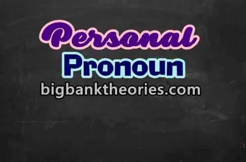 Rumus Dan Contoh Soal Personal Pronoun