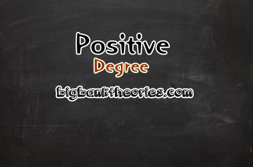 Contoh Positive Degree