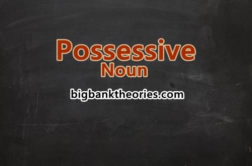 Kumpulan Contoh Possessive Noun