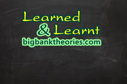 Contoh Kalimat Learned Dan Learnt
