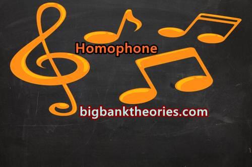 Pengertian Homophone Dalam Bahasa Inggris