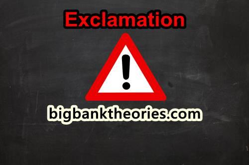 Contoh Penggunaan Exclamation Mark Dalam Kalimat