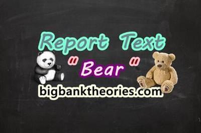 Report Text Bahasa Inggris Tentang Beruang