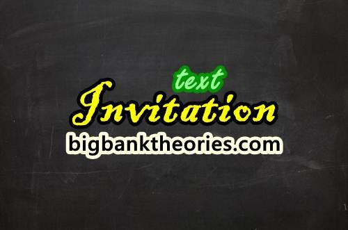 Pengertian invitation text lengkap dengan berbagai contohnya contoh invitation dalam bahasa inggris pengertian stopboris Choice Image