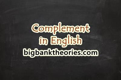 Pengertian Complement Dalam Grammar Beserta Contohnya