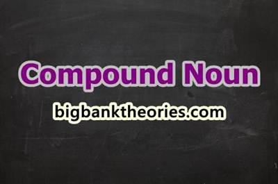 Compound Noun In English