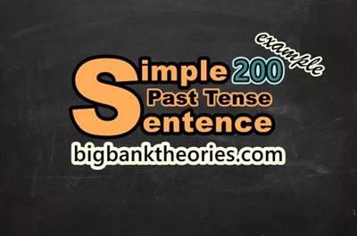 Contoh Kalimat Simple Past Tense Dalam Bentuk Verbal Dan Nominal