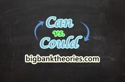 Can vs Could