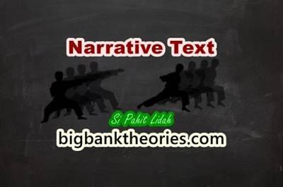Cerita Rakyat Si Pahit Lidah Dalam Bahasa Inggris
