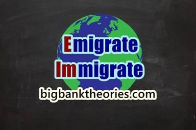 Migrate vs Emigrate vs Immigrate