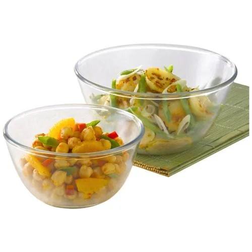 borosil glass mixing bowl oven microwave safe ih22mb13022 2 pcs 1 3l 2 5l