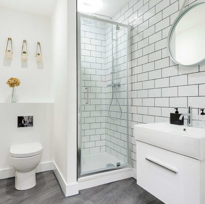 Small Shower Room Ideas - BigBathroomShop on Small Space Small Bathroom Ideas Uk id=42248