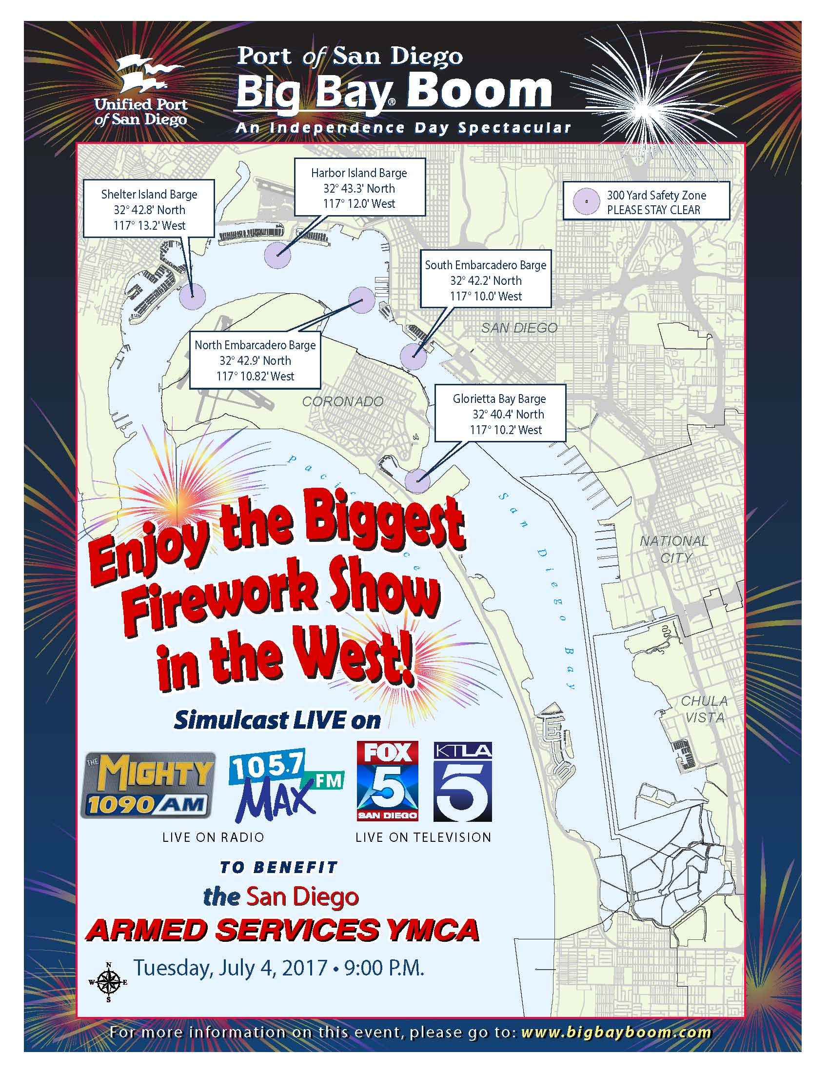 2015 Big Bay Boom Fireworks Where To Watch