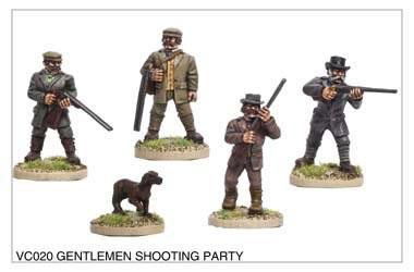 Gentlemen Shooting Party