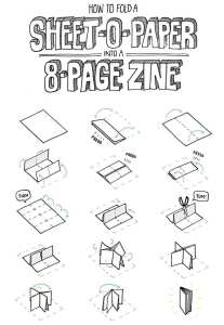 8-page Zine