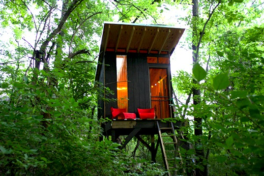Treehouse Camping in Nova Scotia