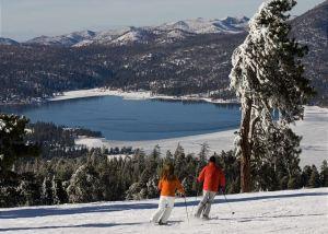 Skiing in Big Bear