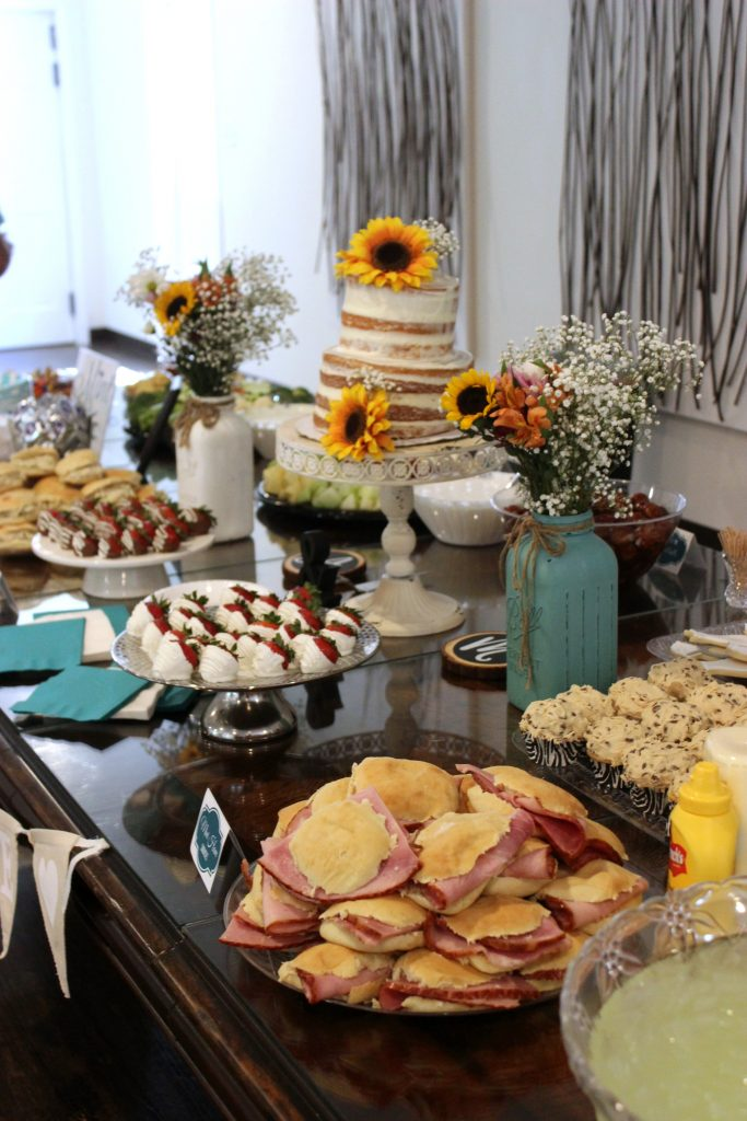 Bridal Shower Food