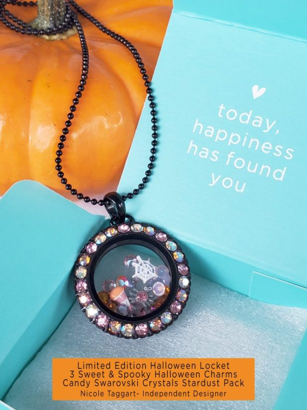 Origami Owl Locket and Halloween Charms